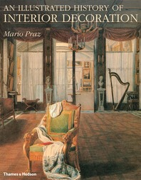 An Illustrated History of Interior Decoration: From Pompeii to Art Nouveau Cover