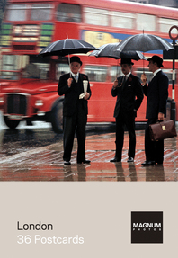 Magnum: London: 36 Postcards Cover