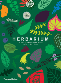 Herbarium Gift Wrap: 10 Sheets of Wrapping Paper with 12 Gift Tags Cover