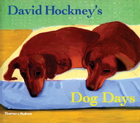 David Hockney Dog Days Cover