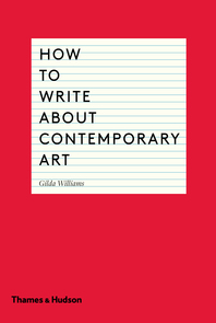 How to Write About Contemporary Art Cover