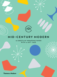 Mid-Century Modern: 10 Sheets of Wrapping Paper with 12 Gift Tags Cover