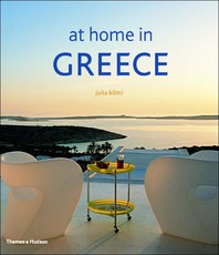 At Home in Greece Cover