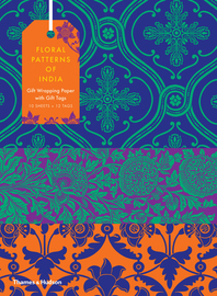 Floral Patterns of India: 10 Sheets of Wrapping Paper with 12 Gift Tags Cover