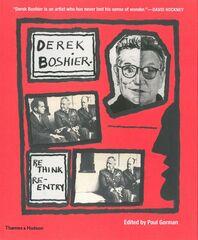 Derek Boshier: Rethink/Re-entry Cover
