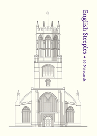English Steeples: 16 Notecards Cover