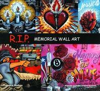 R.I.P: Memorial Wall Art Cover